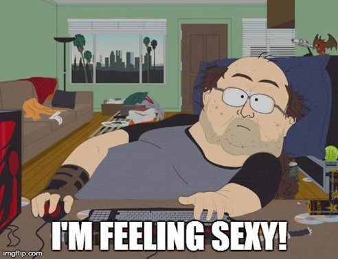 Feeling sexy