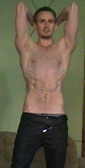Lean physique after using Kinobody Warrior Shredding program
