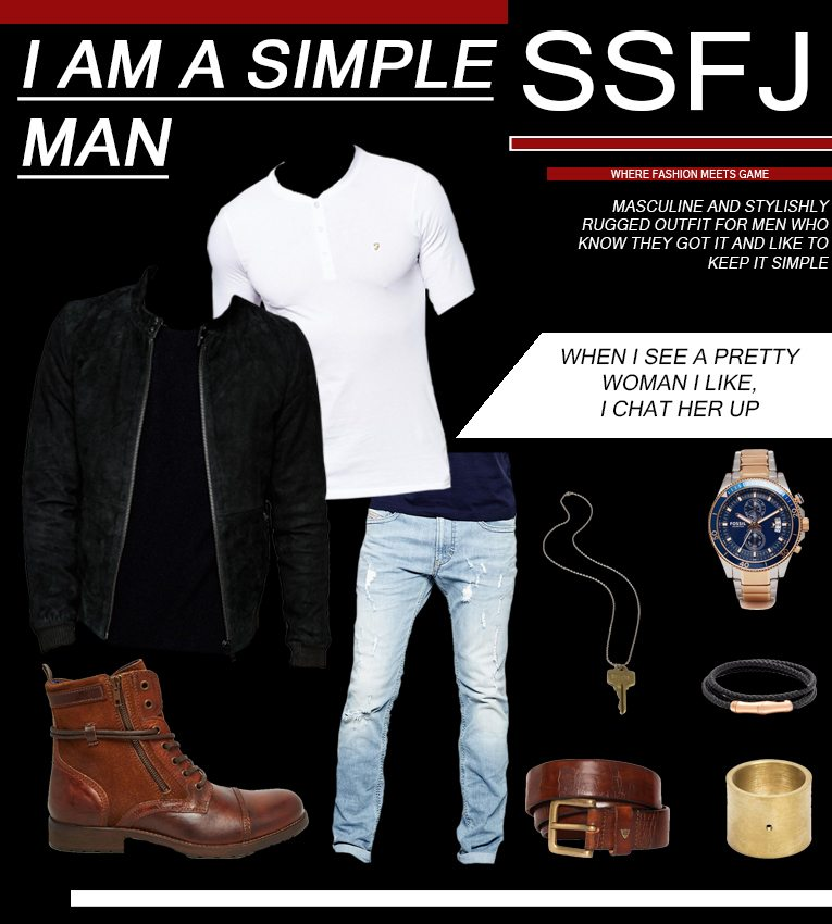 Rugged - Masculine Outfit Spring 2016 How To Dress In Spring